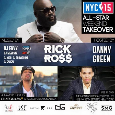 All star weekend takeover one of hottest party in new york on sa
