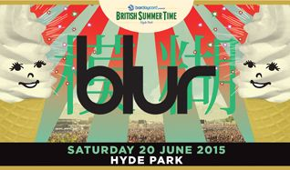 Blur tickets at Hyde Park in London