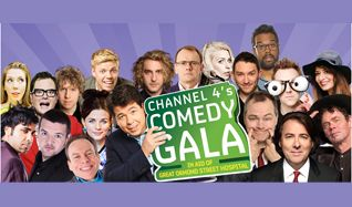 Channel 4's Comedy Gala tickets at The O2 in London