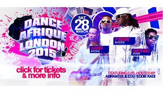 Dance Afrique 2015 tickets at The SSE Arena, Wembley in London