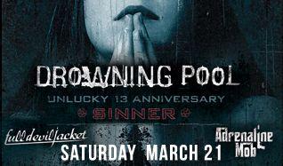 Drowning Pool tickets at Starland Ballroom in Sayreville