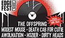 Edgefest 2015: The Offspring, Modest Mouse, Death Cab For Cutie, AWOLNATION, Hozier tickets at Toyota Stadium in Frisco