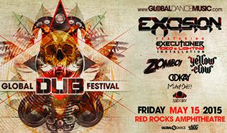 Global Dub Festival: Excision tickets at Red Rocks Amphitheatre in Morrison