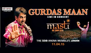 Gurdas Maan tickets at The SSE Arena, Wembley in London