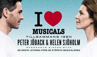 I Love Musicals 2015 - Peter Jöback & Helen Sjöholm - tillsammans igen tickets at Ericsson Globe in Stockholm
