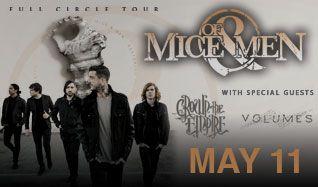 Of Mice & Men tickets at Starland Ballroom in Sayreville