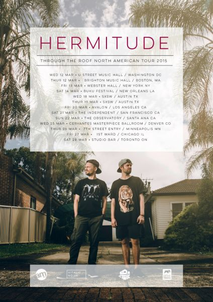 Hermitude comes to Chicago at 1st Ward on March 27