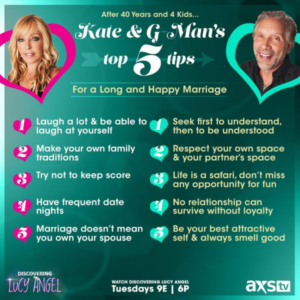 Of discovering lucy angel tips for a long and happy marriage