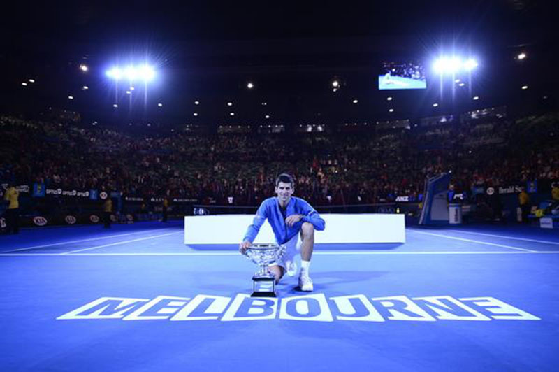 Djokvic on high with fifth Aussie Open title
