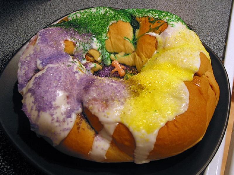 Los Angeles Bakery Kings Cake