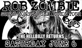 Rob Zombie tickets at Starland Ballroom in Sayreville
