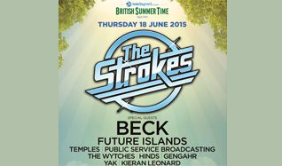 The Strokes tickets at Hyde Park in London