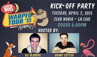 Vans Warped Tour Kick Off tickets at Club Nokia in Los Angeles