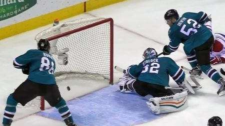 Sharks drown Canadiens in the tank