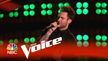 Adam Levine has his own blind audition on Monday's The Voice