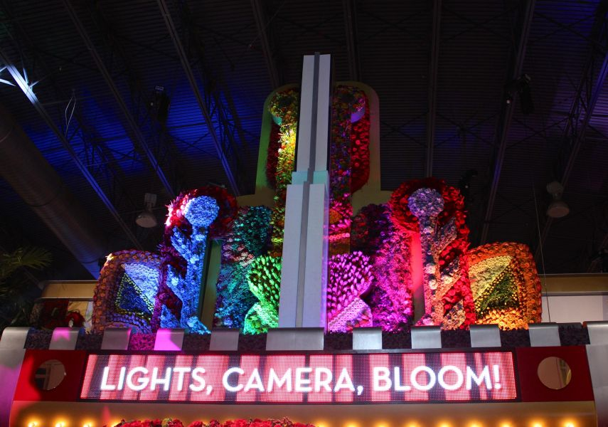Philadelphia Flower Show: A spectacular tribute to the movies
