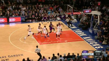 New York Knicks suffer season-worst loss, lose 124-86 to the Kings