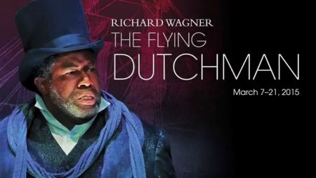 The Flying Dutchman opens this weekend at the Kennedy Center in Washington DC