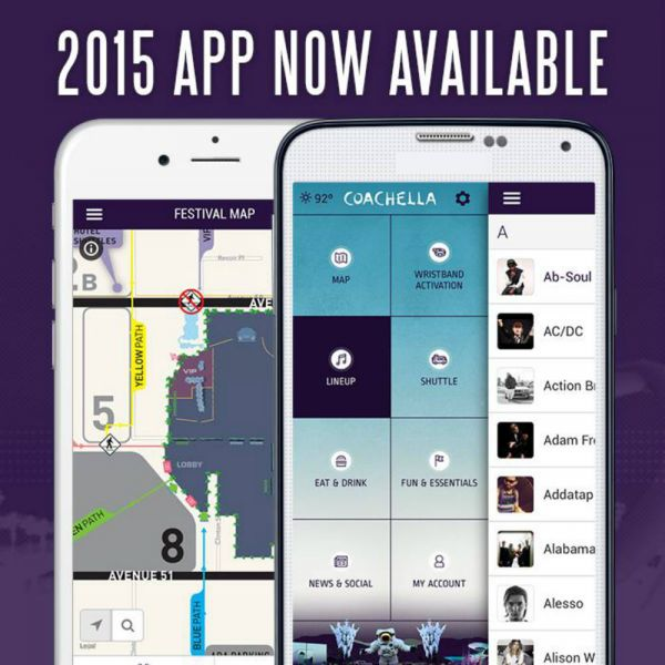 2015 version of Coachella mobile app includes friend finder, shuttle tracking