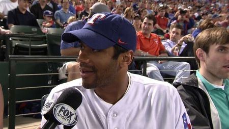 Texas Rangers: Russell Wilson practices with Rangers over weekend