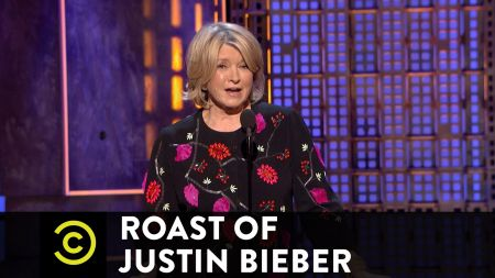 Watch: Justin Bieber burned by Snoop Dogg, Ludacris, Martha Stewart at roast