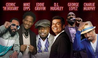 Black and Brown Comedy Get Down with Cedric the Entertainer, Mike Epps Eddie Griffin, D.L. Hughley, George Lopez & Charlie Murphy  tickets at The Colosseum at Caesars Palace in Las Vegas