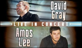 David Gray and Amos Lee tickets at King County's Marymoor Park in Redmond