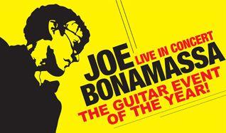 Joe Bonamassa tickets at Ericsson Globe in Stockholm