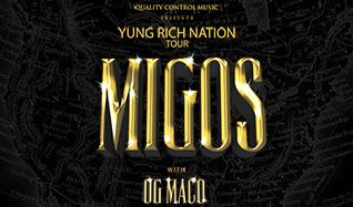 Migos w/ OG Maco tickets at The Regency Ballroom in San Francisco