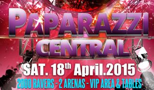 Paparazzi Central  tickets at indigo at The O2 in London