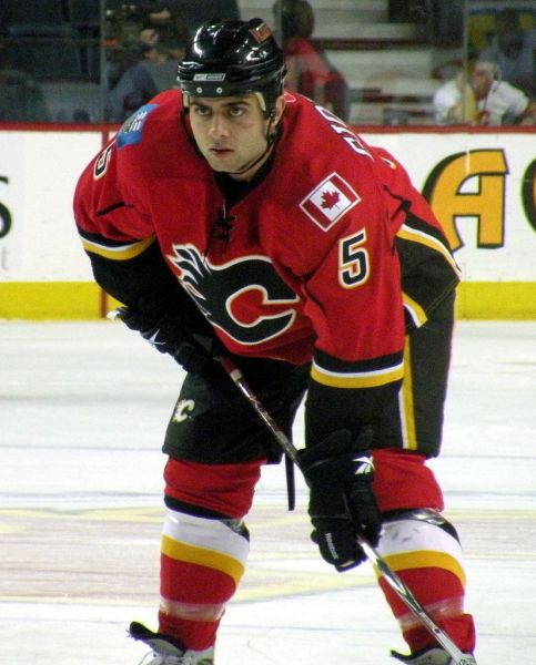 Flames lose Giordano for the rest of the 2014-15 season