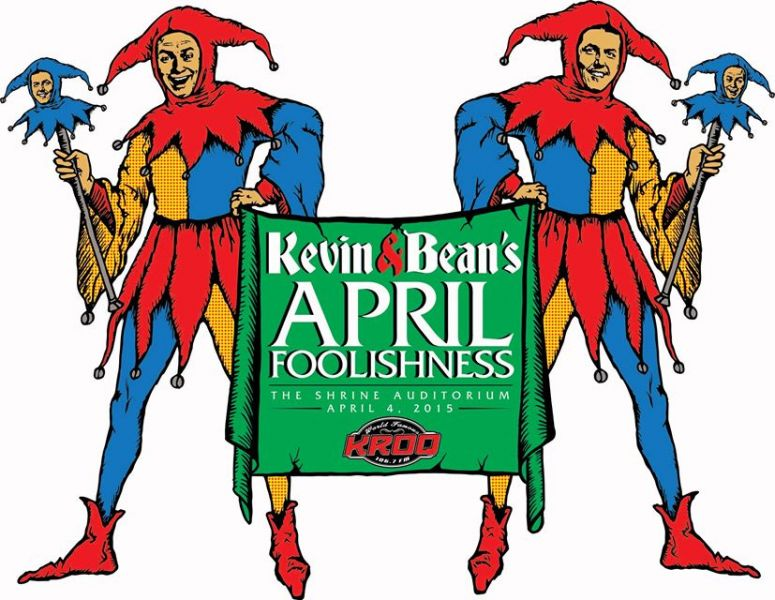 Kevin & Bean's April Foolishness 2015:Tenacous D,Ralphie May & plently of laughs