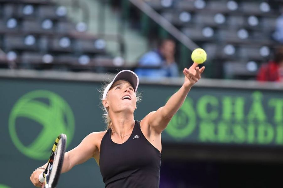 Wozniacki routs Brengle in second round match