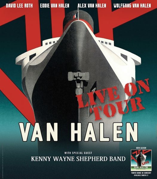 Van Halen summer 2015 tour coming to Jiffy Lube Live