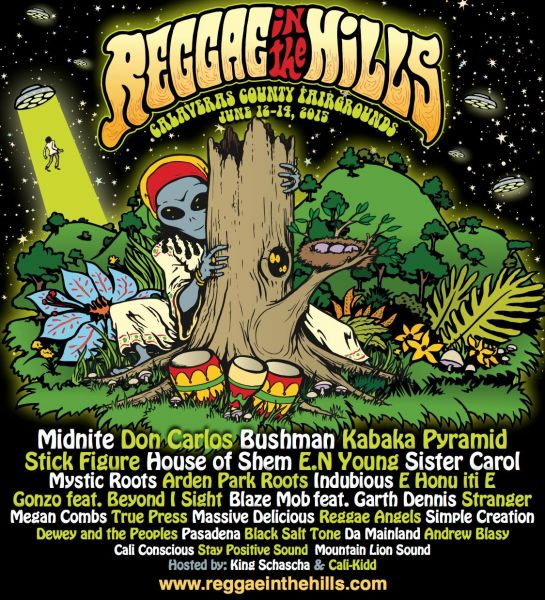 Reggae in the Hills announces 2015 lineup