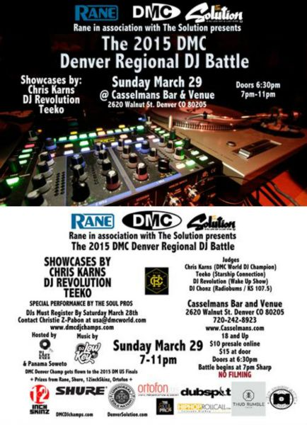 Art and competition collide at DMC DJ Battle