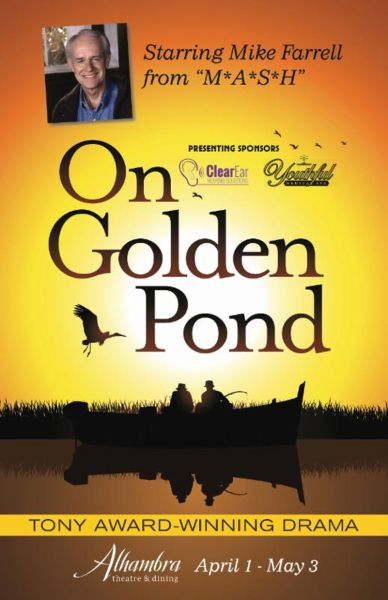 Mike Farrell of 'MASH' stars in 'On Golden Pond' at Alhambra Dinner Theatre