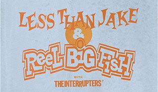 Reel Big Fish & Less Than Jake tickets at The Showbox in Seattle