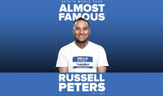 Russell Peters tickets at Arvest Bank Theatre at The Midland in Kansas City