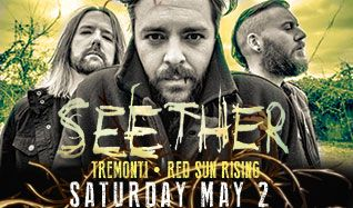 Seether tickets at Starland Ballroom in Sayreville