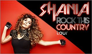 Shania Twain tickets at Rexall Place in Edmonton
