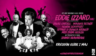 Stand Up For Stockholm tickets at Ericsson Globe in Stockholm
