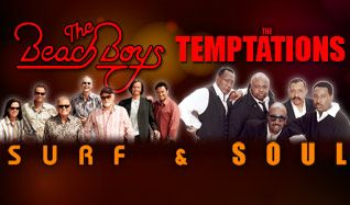 The Beach Boys and The Temptations tickets at Freedom Hill Amphitheatre in Sterling Heights
