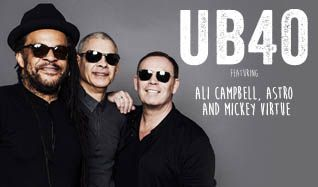 UB40 featuring Ali Campbell, Astro and Mickey Virtue tickets at The Joint at Hard Rock Hotel & Casino Las Vegas in Las Vegas