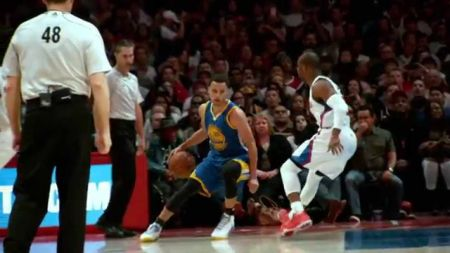 Stephen Curry's move on Chris Paul goes viral, Clippers fall to Golden State