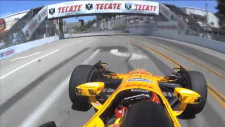 IndyCar champ Ryan Hunter-Reay hopes history repeats itself at Long Beach