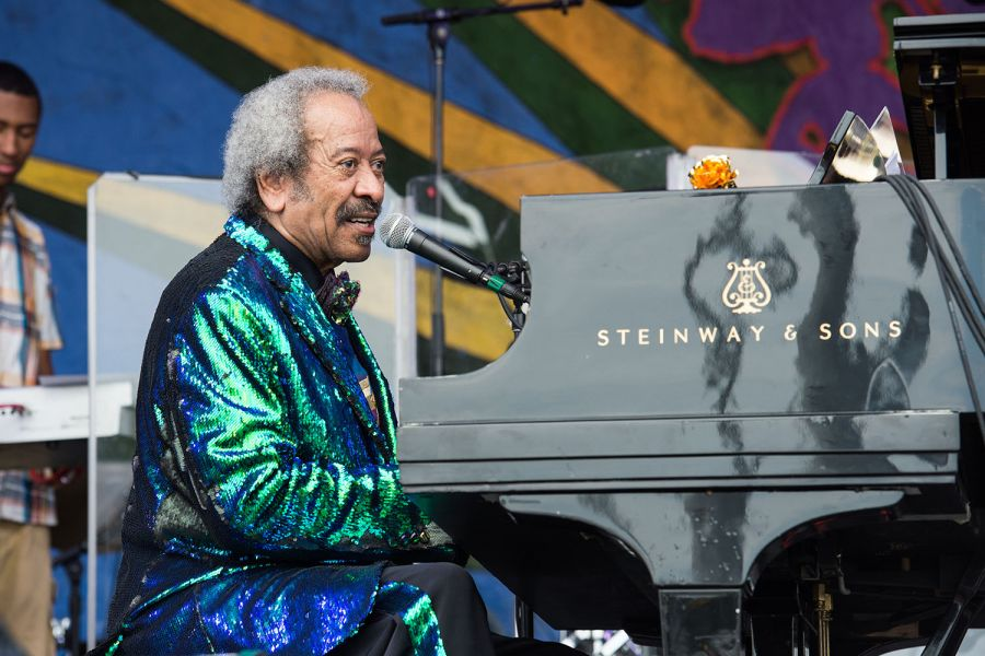 Allen Toussaint brings iconic music, amazing wardrobe, to the Jazz Fest stage