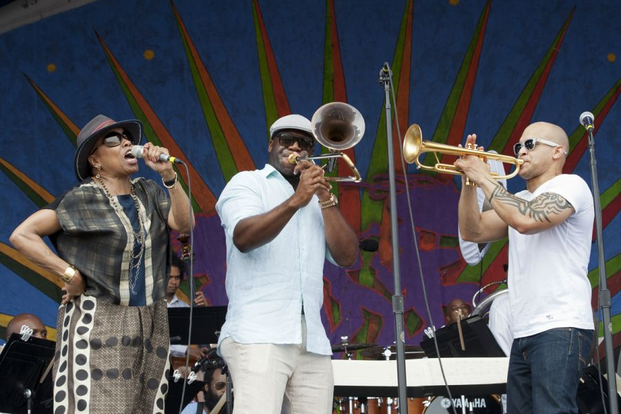 Irvin Mayfield and Dee Dee Bridgewater unite for magical Jazz Fest set (PHOTOS)