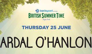 Ardal O'Hanlon tickets at Hyde Park in London
