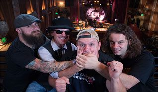 Cowboy Mouth tickets at Gothic Theatre in Englewood